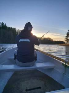 Kalapüük, paadilaenutusPaunküla veehoidlal