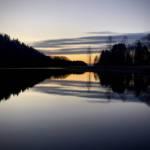 Päikeseloojang Paunküla Veehoidlal